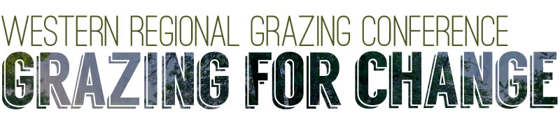 Western Regional Grazing Conference: Grazing For Change