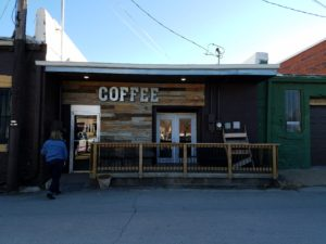 Ottowa, Kansas, new development, Mug Shots coffehouse