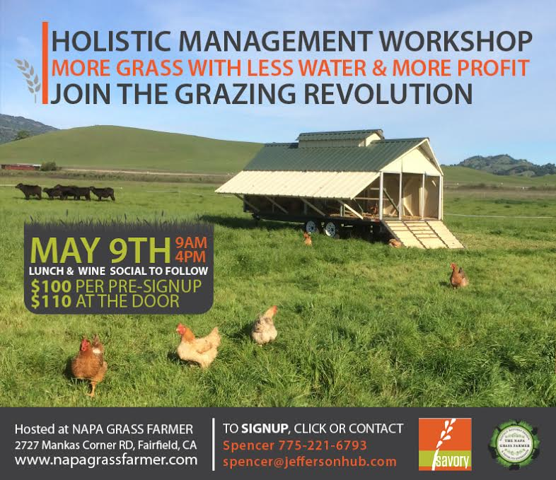 holistic management one day workshop, savory institute accredited, Jefferson Center for Holistic Management