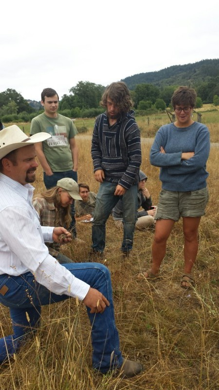 Spencer Smith, Jefferson Center for Holistic Management, Savory Institute accredited educator, Ridgewood Ranch workshop