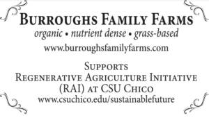 Burroughs Family Farms, Grazing for Change, Chico State, regenerative agriculture, Holistic Management